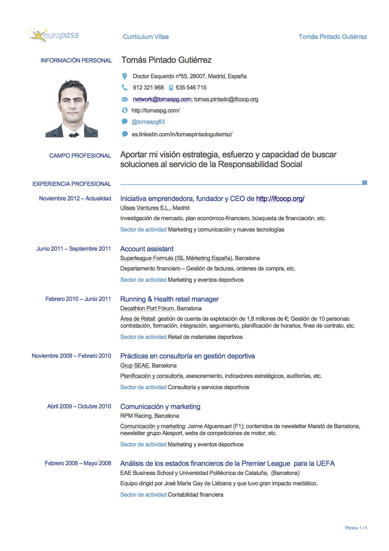 europass curriculum vitae hrvatski
